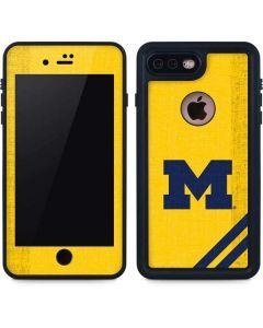 Michigan Large Logo iPhone 8 Plus Waterproof Case