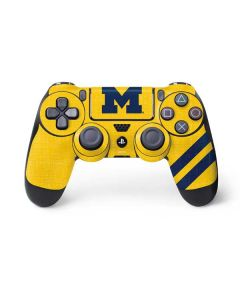 Michigan Large Logo PS4 Controller Skin