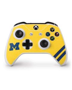 Michigan Large Logo Xbox One S Controller Skin