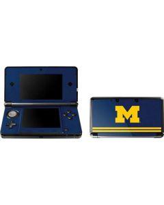Michigan Logo Striped 3DS (2011) Skin