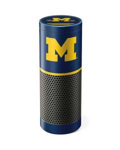 Michigan Logo Striped Amazon Echo Skin