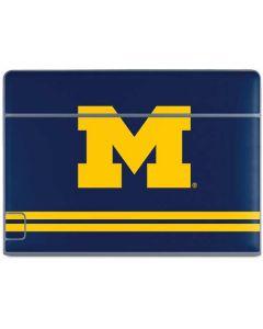 Michigan Logo Striped Galaxy Book Keyboard Folio 10.6in Skin