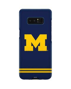 Michigan Logo Striped Galaxy Note 8 Lite Case