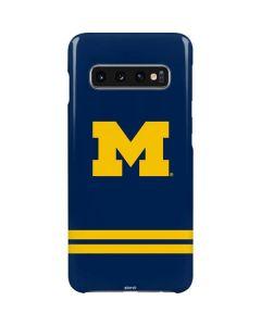 Michigan Logo Striped Galaxy S10 Lite Case