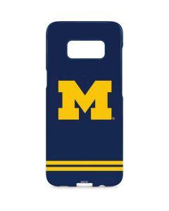 Michigan Logo Striped Galaxy S8 Plus Lite Case