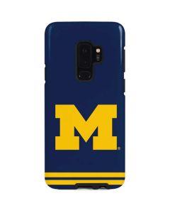Michigan Logo Striped Galaxy S9 Plus Pro Case