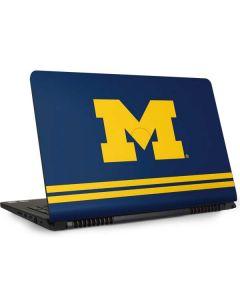 Michigan Logo Striped Dell Inspiron Skin