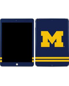 Michigan Logo Striped Apple iPad Skin