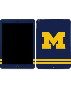 Michigan Logo Striped Apple iPad Air Skin