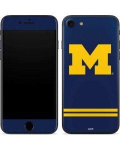 Michigan Logo Striped iPhone 7 Skin