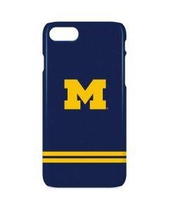 Michigan Logo Striped iPhone 8 Lite Case