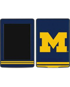 Michigan Logo Striped Amazon Kindle Skin