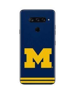 Michigan Logo Striped LG V40 ThinQ Skin