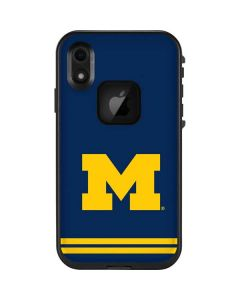Michigan Logo Striped LifeProof Fre iPhone Skin