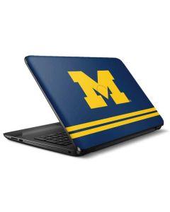 Michigan Logo Striped HP Notebook Skin