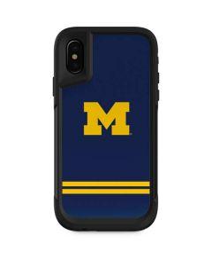 Michigan Logo Striped Otterbox Pursuit iPhone Skin