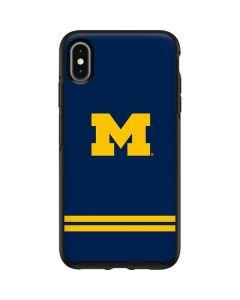 Michigan Logo Striped Otterbox Symmetry iPhone Skin