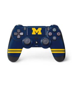 Michigan Logo Striped PS4 Controller Skin