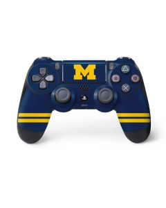 Michigan Logo Striped PS4 Pro/Slim Controller Skin
