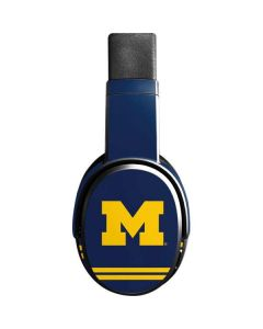 Michigan Logo Striped Skullcandy Crusher Wireless Skin