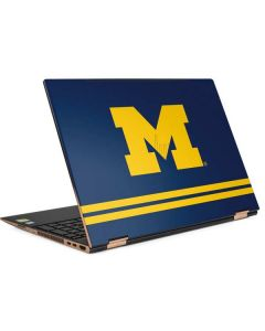 Michigan Logo Striped HP Spectre Skin