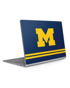 Michigan Logo Striped Surface Book 2 15in Skin