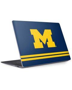 Michigan Logo Striped Surface Laptop 2 Skin