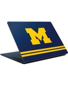 Michigan Logo Striped Surface Laptop Skin