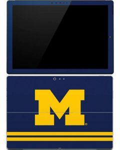 Michigan Logo Striped Surface Pro 4 Skin