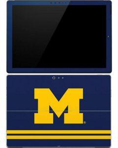 Michigan Logo Striped Surface Pro (2017) Skin