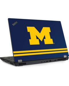 Michigan Logo Striped Lenovo ThinkPad Skin