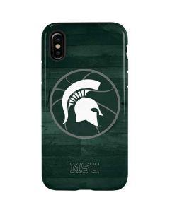 Michigan State Basketball Courtside iPhone XS Pro Case