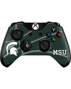 Michigan State University Green Basketball Xbox One Controller Skin