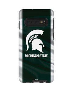 Michigan State University Away Grey Jersey Galaxy S10 Pro Case