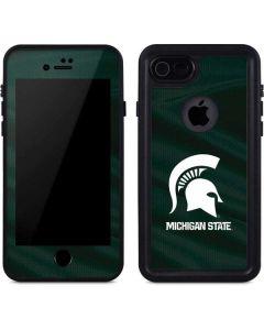 Michigan State University Away Grey Jersey iPhone 8 Waterproof Case