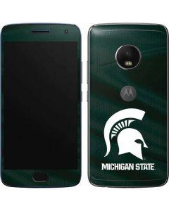 Michigan State University Away Grey Jersey Moto G5 Plus Skin