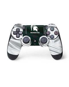 Michigan State University Away Grey Jersey PS4 Controller Skin
