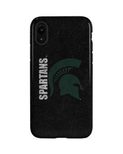 Michigan State University Bold Spartans Logo iPhone XR Pro Case