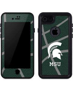 Michigan State University Green Basketball iPhone 7 Waterproof Case