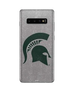 Michigan State University Grey Spartans Logo Galaxy S10 Plus Skin