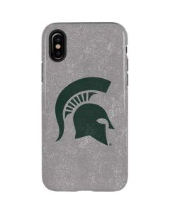 Michigan State University Grey Spartans Logo iPhone XS Max Pro Case