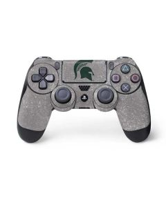 Michigan State University Grey Spartans Logo PS4 Controller Skin