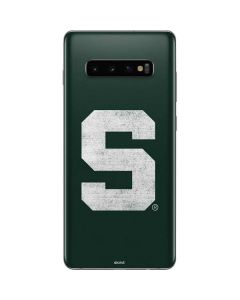 Michigan State University Spartans Away Grey S Galaxy S10 Plus Skin