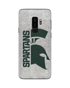 Michigan State University Spartans Half Logo Galaxy S9 Plus Skin