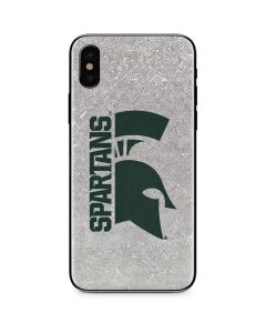 Michigan State University Spartans Half Logo iPhone XS Max Skin