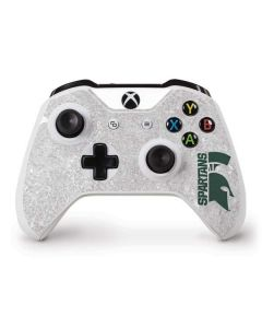 Michigan State University Spartans Half Logo Xbox One S Controller Skin