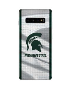 Michigan State University Spartans Jersey Galaxy S10 Plus Skin