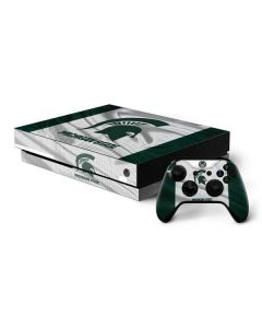 Michigan State University Spartans Jersey Xbox One X Bundle Skin