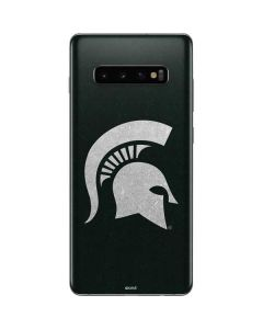 Michigan State University Spartans Logo Galaxy S10 Plus Skin