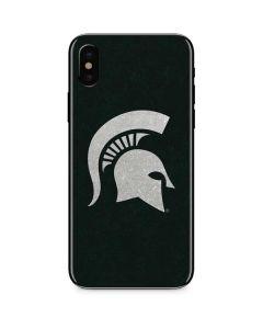 Michigan State University Spartans Logo iPhone XS Skin